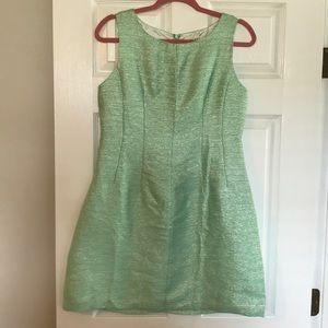 Shimmer A line dress